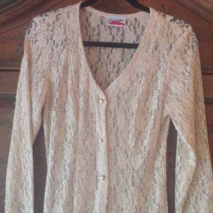 Vintage Lace Dress/Duster